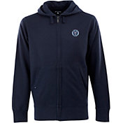 Antigua Men's New York City FC Signature Heathered Full-Zip Hoodie