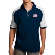 Antigua Men's New England Revolution Navy Century Polo