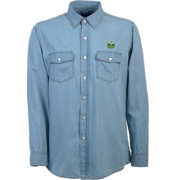 Antigua Men's Portland Timbers Chambray Long-Sleeve Shirt