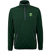 Antigua Men's Portland Timbers Ice Hunter Green Quarter-Zip Fleece Jacket