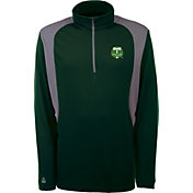 Antigua Men's Portland Timbers Delta Hunter Green Quarter-Zip Pullover
