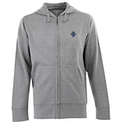 Antigua Men's Vancouver Whitecaps Signature Heathered Full-Zip Hoodie