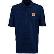 Antigua Men's Auburn Tigers Blue Illusion Performance Polo