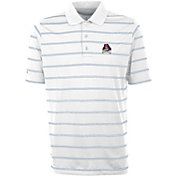 Antigua Men's East Carolina Pirates Deluxe Performance White Polo