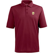 Antigua Men's Florida State Seminoles Garnet Pique Xtra-Lite Polo