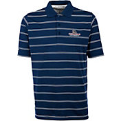 Antigua Men's Gonzaga Bulldogs Blue Deluxe Performance Polo