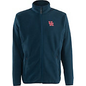 Antigua Men's Houston Cougars Navy Ice Full-Zip Jacket