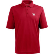 Antigua Men's Houston Cougars Red Xtra-Lite Polo
