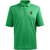 Antigua Men's Marshall Thundering Herd Green Xtra-Lite Polo