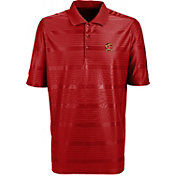 Antigua Men's Maryland Terrapins Red Illusion Performance Polo