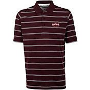 Antigua Men's Mississippi State Bulldogs Maroon Deluxe Performance Polo
