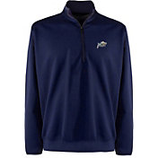 Antigua Men's Navy Midshipmen Leader Pullover Navy Long Sleeve Shirt