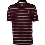 Antigua Men's Arizona State Sun Devils Maroon Deluxe Performance Polo