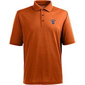 Antigua Men's Syracuse Orange Xtra-Lite Orange Polo