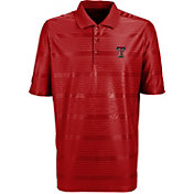 Antigua Men's Texas Tech Red Raiders Red Illusion Performance Polo