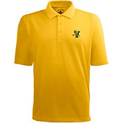 Antigua Men's Vermont Catamounts Gold Xtra-Lite Polo