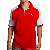 Antigua Men's San Francisco 49ers Century Red Polo