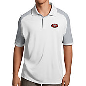 Antigua Men's San Francisco 49ers Century White Polo