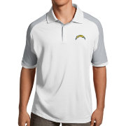 Antigua Men's Los Angeles Chargers Century White Polo