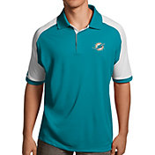 Antigua Men's Miami Dolphins Century Aqua Polo