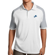 Antigua Men's Detroit Lions Century White Polo