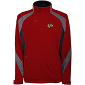 Antigua Men's Chicago Blackhawks Tempest Red Full-Zip Jacket