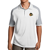 Antigua Men's Chicago Blackhawks Century White Polo
