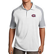 Antigua Men's Montreal Canadiens Century White Polo