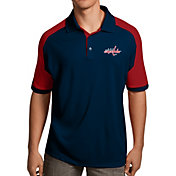 Antigua Men's Washington Capitals Navy/Red Century Polo