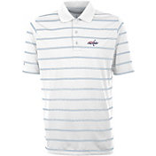 Antigua Men's Washington Capitals Deluxe White Polo Shirt