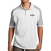 Antigua Men's Washington Capitals Century White Polo