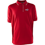 Antigua Men's Washington Capitals Red Elite Polo