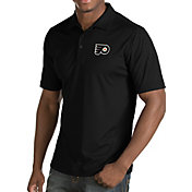Antigua Men's Philadelphia Flyers Inspire Black Polo