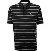 Antigua Men's Los Angeles Kings Deluxe Black Polo