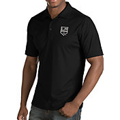 Antigua Men's Los Angeles Kings Inspire Black Polo