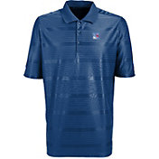 Antigua Men's New York Rangers Illusion Blue Polo