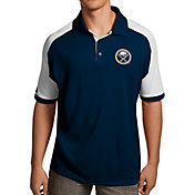 Antigua Men's Buffalo Sabres Navy/White Century Polo