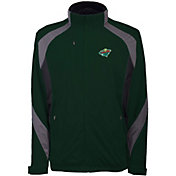 Antigua Men's Minnesota Wild Tempest Blue Full-Zip Jacket