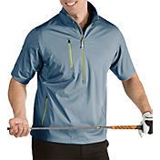 Antigua Men's Tour Half-Zip Short Sleeve Golf Pullover