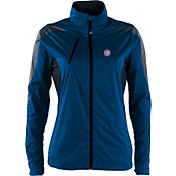 Antigua Women's Chicago Cubs Full-Zip Royal Discover Jacket