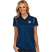 Antigua Women's Chicago Cubs Icon Royal Performance Polo