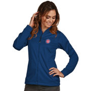 Antigua Women's Chicago Cubs Full-Zip Royal   Golf Jacket