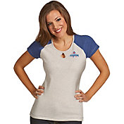 Antigua Women's 2016 World Series Champions Chicago Cubs Royal Crush T-Shirt