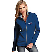 Antigua Women's 2016 World Series Champions Chicago Cubs Royal Leader Full-Zip Fleece