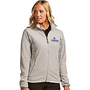 Antigua Women's 2016 World Series Champions Chicago Cubs Silver Ice Jacket