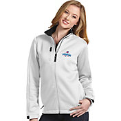 Antigua Women's 2016 World Series Champions Chicago Cubs White Traverse Jacket