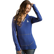 Antigua Women's Los Angeles Dodgers Royal Move Pullover