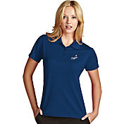 Antigua Women's Los Angeles Dodgers Exceed Royal Performance Polo