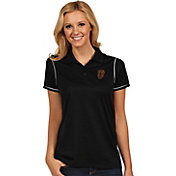 Antigua Women's San Francisco Giants Icon Black Performance Polo