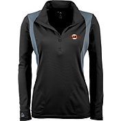 Antigua Women's San Francisco Giants Delta Black Quarter-Zip Pullover